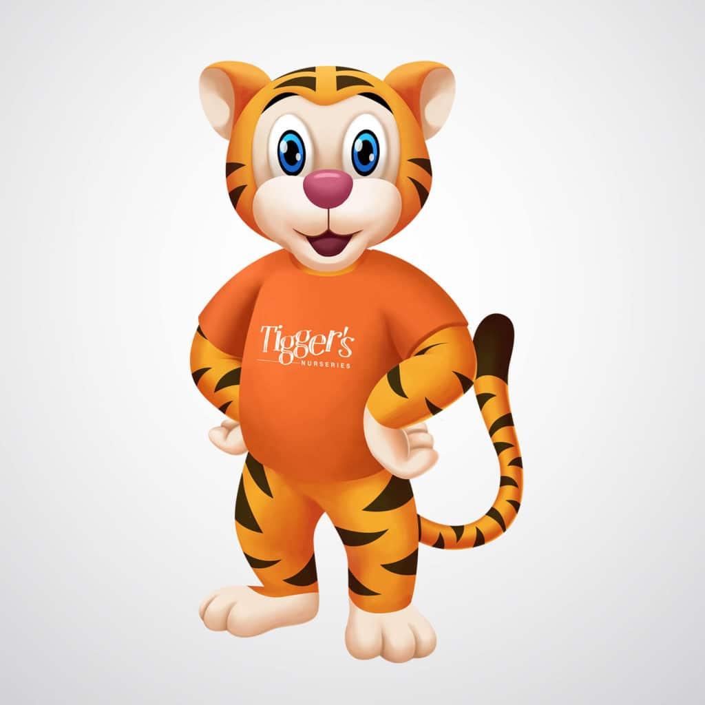 mascot tiger
